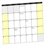 School Fundraising Calendars